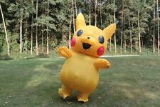 US SELLER Pikachu Cosplay Pokemon Inflatable Costume  Adult
