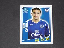 122 TIM CAHILL EVERTON TOFFEES TOPPS PREMIER LEAGUE FOOTBALL 2008-2009 PANINI