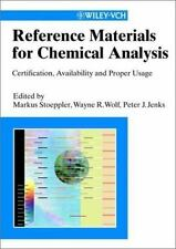 Reference Materials for Chemical Analysis: Ceritification, Availability and Prop