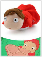 "PONYO 4"" Plush Doll By The Cliff Soft Toy Studio Ghibli free shipping"