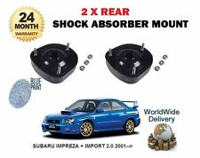 FOR SUBARU IMPREZA 2.0 WRX STI 2001-  2 X REAR SHOCKER TOP SUSPENSION MOUNTING