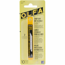OLFA A1160B SNAP-OFF PACK OF 10 ART BLADES 5007