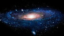 "Andromeda Galaxy Stars Universe Space Fabric Poster 43"" x 24"" Decor 11"