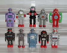10 Brikeys Robot Tin Age Collection THUNDER RADICON Lavender GIANT Mechanized