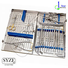 SYZE Dental Implant Oral Surgery 19pcs Kit Best Implantology tools German SS CE