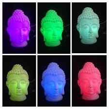 Color Changing BUDDHA LAMP Cordless. Change into 6 different colors! Zen Decor