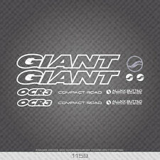 01159 Giant Bicycle Stickers - Decals - Transfers