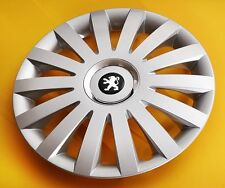 "15"" peugeot 206,306,605, partner,... enjoliveurs/covers caps hub, quantité 4"