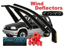 Suzuki Grand Vitara 1998- 2005 door Wind Deflectors 4 pcs. HEKO (28621)