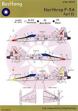 Bestfong Decals 1/48 Chinese NORTHROP F-5A FREEDOM FIGHTER Part 2