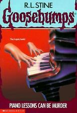 Piano Lessons Can Be Murder (Goosebumps #13) Stine, R. L. Paperback
