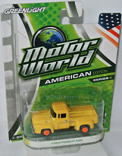 Greenlight Motor World - 1956 FORD F-100 PICKUP - yellow - 1:64