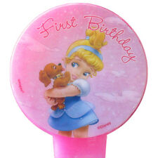 DISNEY PRINCESS BABIES CINDERELLA 1st BIRTHDAY CAKE CANDLE ~ Party Supplies