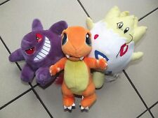 lot peluches Pokemon officiel Nintendo game cube wii 64