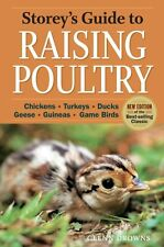 Storey's Guide to Raising Poultry Chickens, Turkeys, Ducks, Gee... 9781612120010