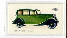 (Jb3901-100)  GALLAHER,MOTOR CARS,12.8 H.P.SUNBEAM DAWN,1934#13