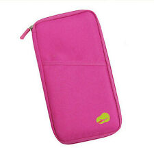 Practical Cash Passport Holder Travel Credit Card Document Bags Handbags Wallet