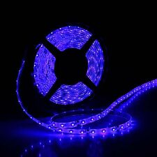 Car Boat Decor Waterproof Blue 16ft 5M 3528 SMD 300 LED Strip Light Flexible 12V