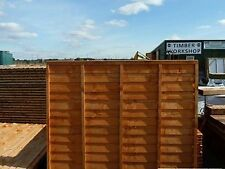 "Bargain Waney Lap fence panels 6ft x 6ft heavy duty  ""Special Offer £14.95"""