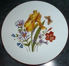 "JKW Bavaria Vintage Flowers Plate 7 & 3/4"" Immaculate, please see other similar."