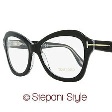 Tom Ford Butterfly Eyeglasses TF5359 003 Size: 53mm Black/Crystal FT5359