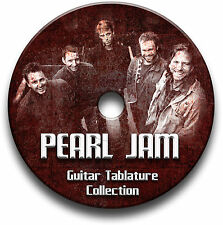 Pearl Jam rock chitarra schede tablature SONG BOOK ANTHOLOGY CD del software libreria