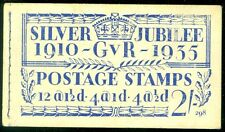 GREAT BRITAIN : 1935. Silver Jubilee Complete Booklet. Very Fine, Mint NH.