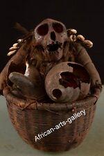 1013  Alte  Voodoo Affenfigur der Bulu Kamerun / Cameroon  Afrika