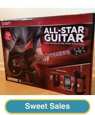 BRAND NEW ION ALL STAR GUITAR CONTROLLER FOR IPAD IPHONE IPOD TOUCH ION AUDIO
