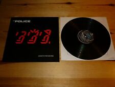 GHOST IN THE MACHINE - THE POLICE (STING) VINYL / RECORD / LP  33rpm EXCELLENT
