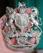Original 19th Lancashire Artillery volunteers helmet plate