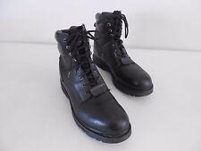Men's Wolverine Steel Toe Boots Motor./Work Blk Leather USA 12 EUR 45 Med 03165