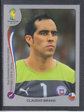 Panini - Brazil 2014 World Cup - # 148 Claudio Bravo - Chile - Platinum