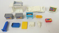 Playmobil Lot of 13 Replacement Parts Hospital Gurney Office Computer FREE SHIP