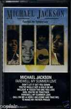 MICHAEL JACKSON - FAREWELL MY SUMMER LOVE 1984 UK CASSETTE MOTOWN ‎– WK 72630