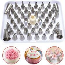 52pcs Large Icing Piping Nozzles Tips Cake Decorating Sugarcraft Tool With BOX