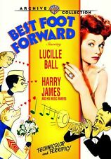 BEST FOOT FORWARD (1943 Lucille Ball)  - Region Free DVD - Sealed
