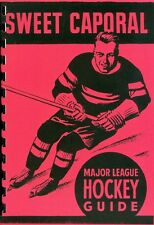 1939-40 Sweet Caporal Major League Hockey Guide 1st Edition Reproduction