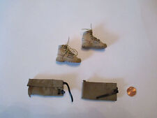 DAM TOYS 1/6 Modern British Royal Marines Commando Boots & Puttes 78023