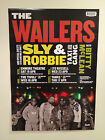THE WAILERS 2014 Australian Tour Poster A2 SLY & ROBBIE Bob Marley and & **NEW**