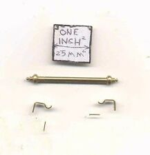 Curtain Rod Adjustabe 1785-100 1/12 scale dollhouse miniature Clare-Bell Brass