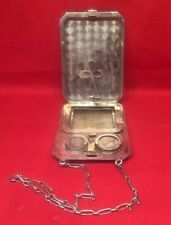 Antique Sterling Silver Purse heavy holder .925 use not scrap 102 grams 925