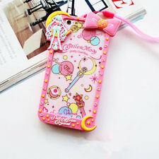 Cartoon Bow Frame Sailor Moon Silicone Soft Case Cover for iphone 6 6S 7 Plus