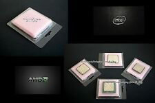 CPU Clam Shell Case for Intel AMD Processor with Anti Static Foam - Qty 100 New