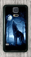 WOLF  HOWLING AT FULL MOON NIGHT #7 CASE COVER FOR SAMSUNG GALAXY S5 -fsd3Z