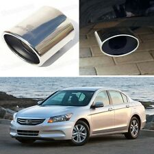 Oval Exhaust Muffler Tail Pipe Tip Tailpipe fit for Honda Accord 2011 2012