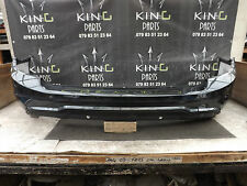 MERCEDES C CLASS A204 AMG ESTATE FACELIFT 10-14 REAR BUMPER GENUINE BLACK (A0194