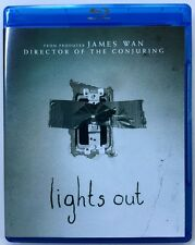 LIGHTS OUT BLU RAY FREE WORLD WIDE SHIPPING BUY IT NOW A HORROR GEM JAMES WAN