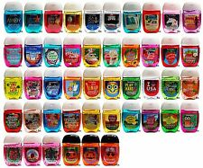 Bath & Body Works Pocketbac Lot of 8 Assorted Mixed Scent Sanitizer Hand Gels