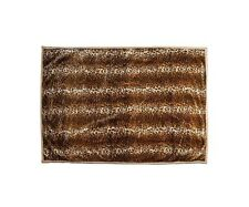 "NEW 100% FAUX FUR THROW BLANKET THROW COVER LEOPARD BROWN HOME DECOR 50"" X 70"""